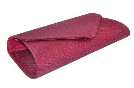 Torebka kopertówka ciemno różowa amarant